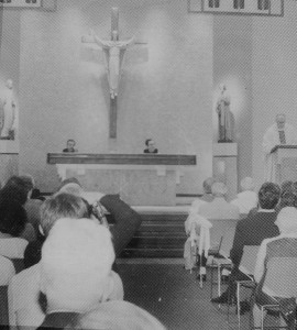 The Catholic Center's 1985 Dedication Mass for the 4th St location